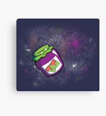 Jam in the Space Canvas Print