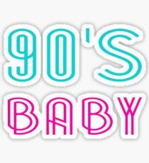90's BABY Sticker