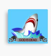 God is Dead Week Canvas Print