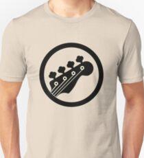 Schwarzer Bass Unisex T-Shirt