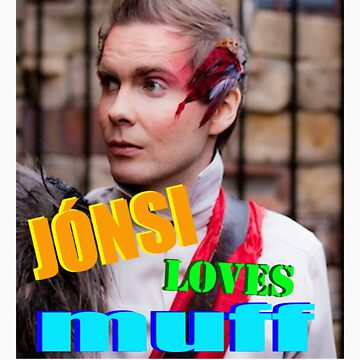 jonsi loves muff by samuelhopper