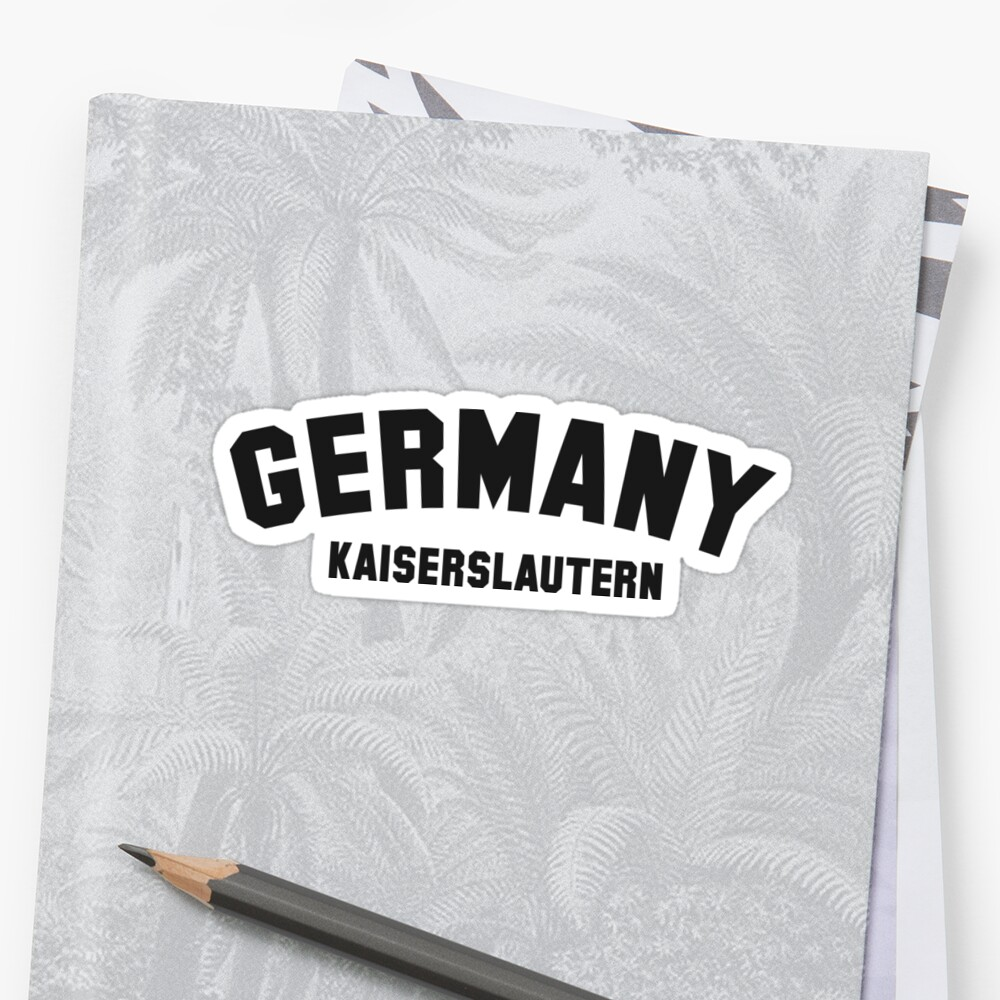 """KAISERSLAUTERN"" Sticker by eyesblau 