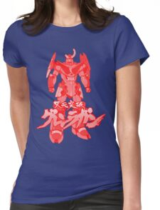 Gurren Laggan Red Version! Womens Fitted T-Shirt