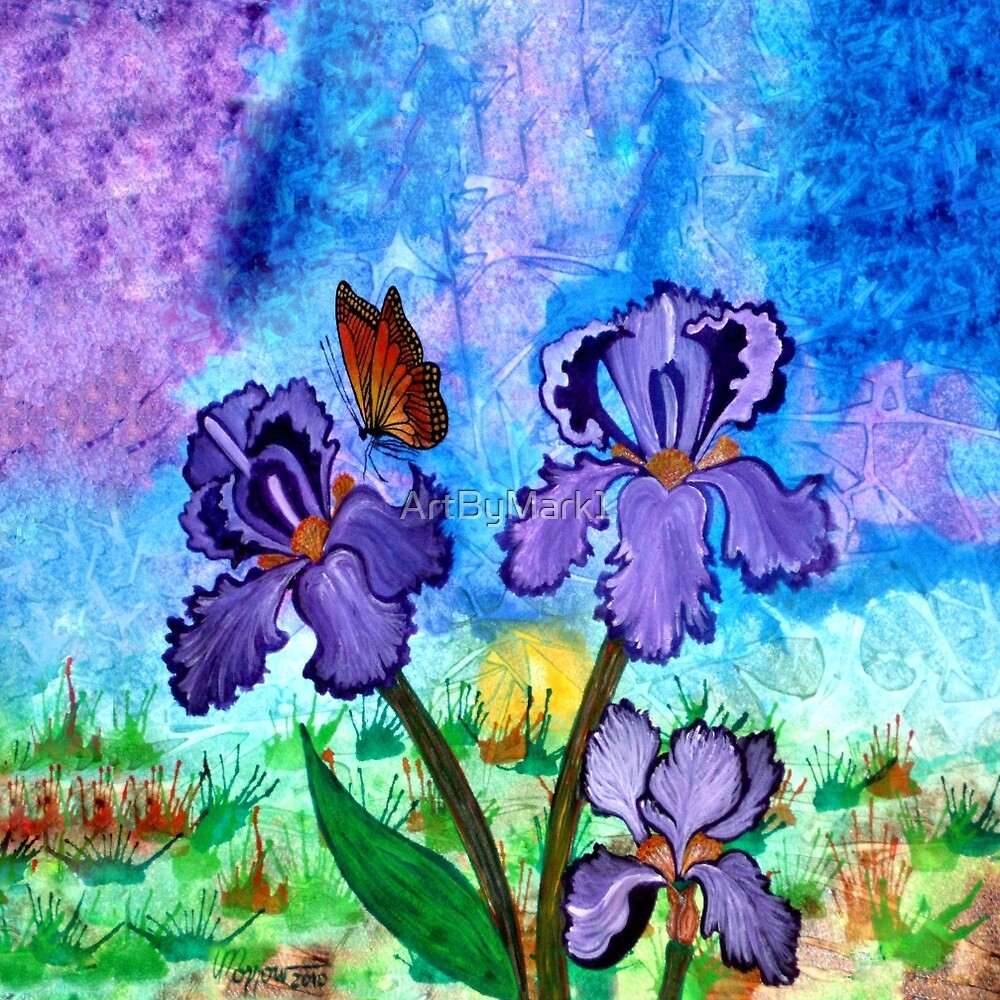 Iris at Sunrise by ArtByMark1