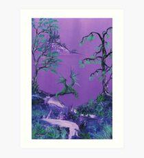 Dragons's Rest Art Print