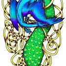 Peacock Dragon by Rose Gerard