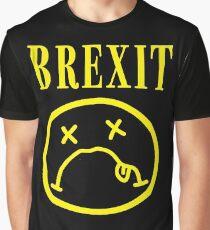 SADFACE GRUNGE BREXIT Graphic T-Shirt