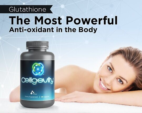 Glutathione - The Most Powerful Anti-oxidant in the Body by Cellgevity - The Glutathione Enhancer