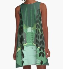 Misty Marsh A-Line Dress