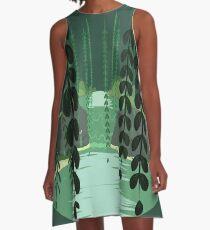 Misty Marsh A-Line Dress