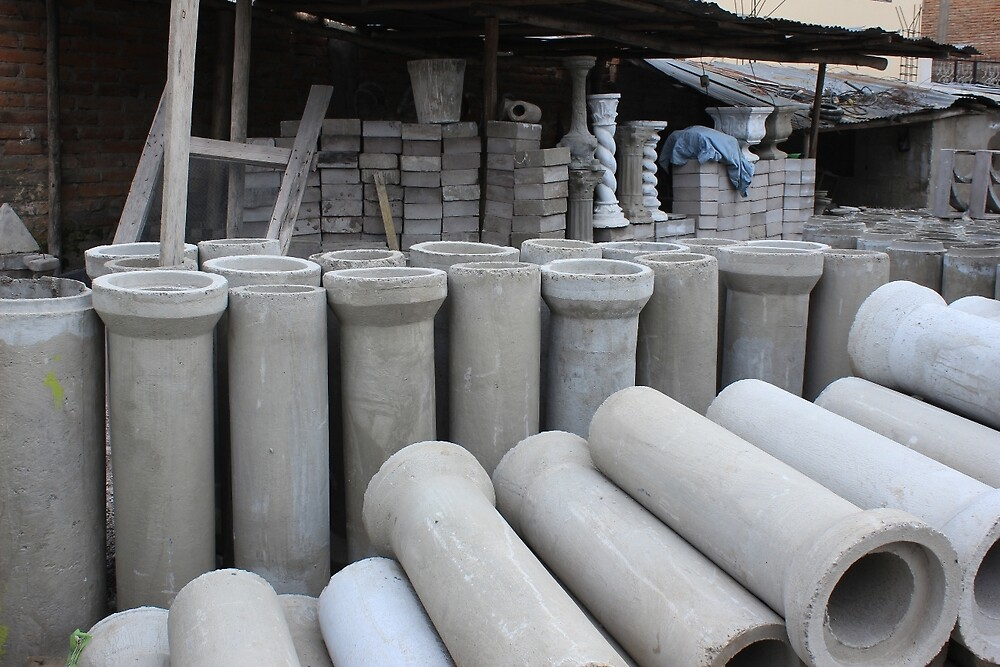 Concrete Pipe Factory by rhamm