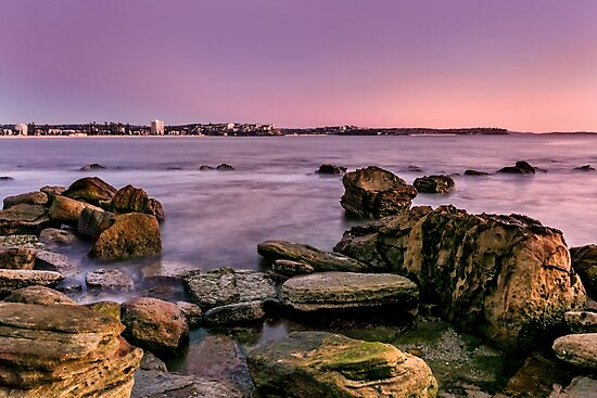 Shelly Beach, Manly by Adriana Glackin