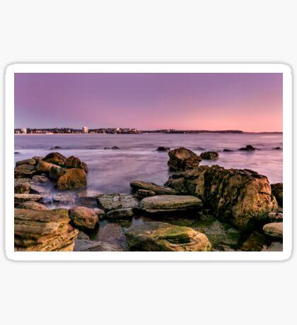 Shelly Beach, Manly Sticker