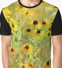 Black Eyed Susans Painting Graphic T-Shirt