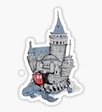 Once Upon a Time Istanbul Sticker