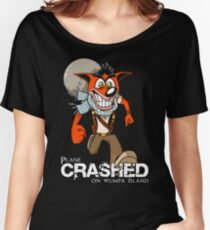 Crashed Women's Relaxed Fit T-Shirt