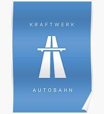 KRAFTWERK / Autobahn Poster