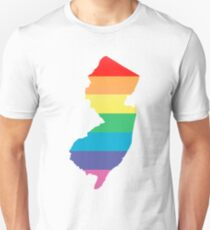 rainbow new jersey T-Shirt