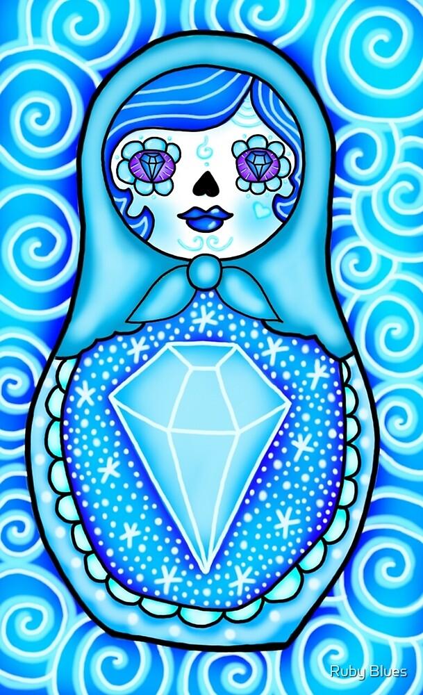 blue doll by Ruby Blues