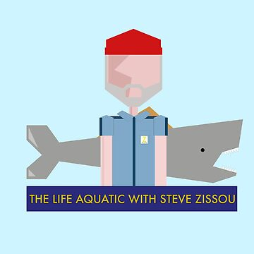 The life aquatic with Steve Zissou - Wes Anderson by playstopreplay