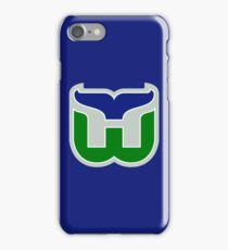 HARTFORD WHALERS HOCKEY RETRO iPhone Case/Skin