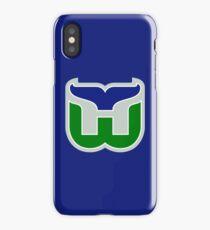 HARTFORD WHALERS HOCKEY RETRO iPhone Case/Skin