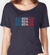 COTE D'AZUR Women's Relaxed Fit T-Shirt
