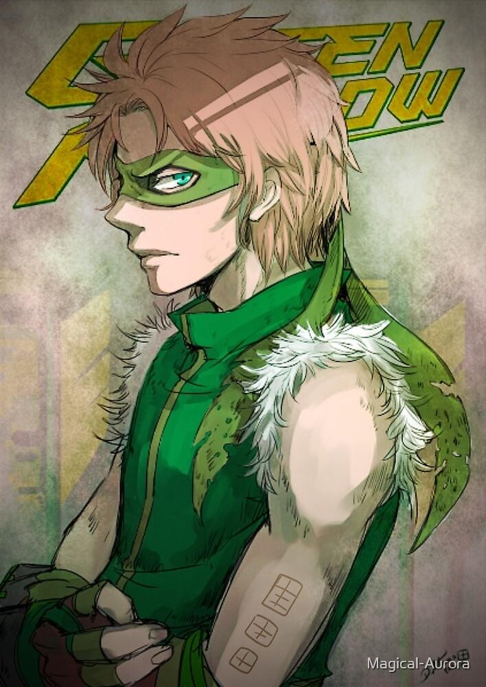 Green Arrow by Magical-Aurora