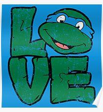 LOVE TURTLES Poster