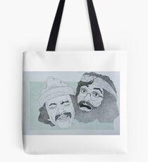 Cheech and Chong dotworks Tote Bag