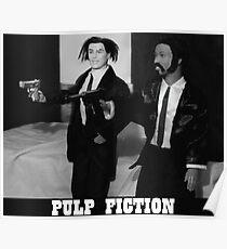 A Plastic World - Pulp Fiction Poster