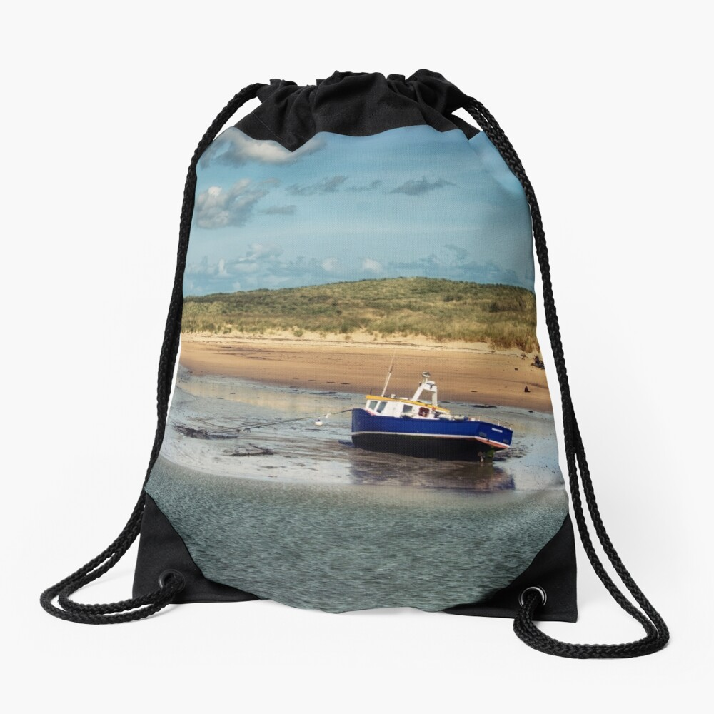Waiting for Adventure Drawstring Bag