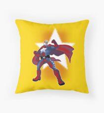 Statesman Throw Pillow