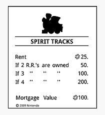 Lámina fotográfica Spirit Tracks Monopoly