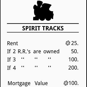 Spirit Tracks Monopoly by DangerousBear