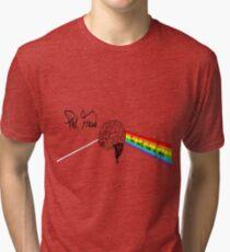 the dark side of mind Tri-blend T-Shirt