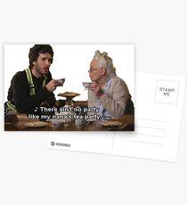 Postales Vuelo de los Conchords - Tea Party