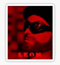 A Plastic World - Leon: The Professional Sticker