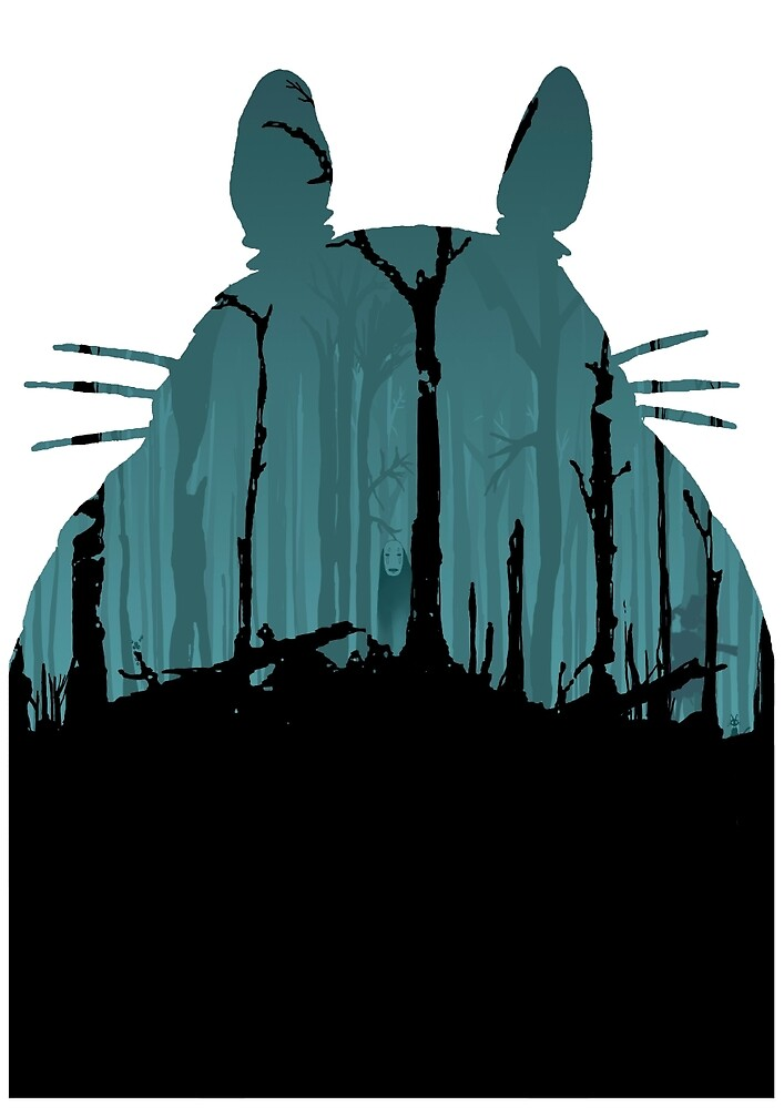 Forest Ghibli by EricIglesias