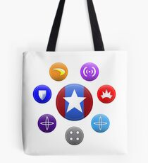 Heroic Archetypes v1 Tote Bag