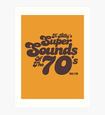 Reservoir Dogs K-Billy's Super Sounds Of The Seventies BrownT-shirt Art Print