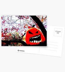 All Hallows Tree Postcards