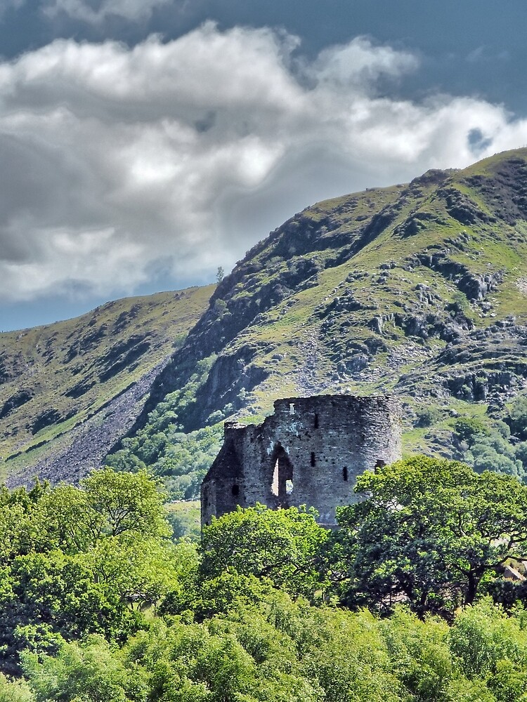 Dolbadarn Castle 2 by BrainwaveArt