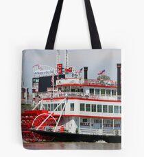 Paddle Wheel - Belle of Cincinnati 2014 Tote Bag
