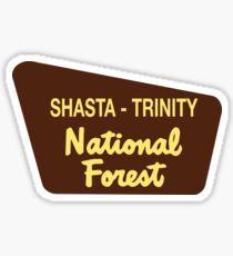 Shasta - Trinity National Forest Sticker