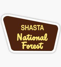 Shasta National Forest Sticker