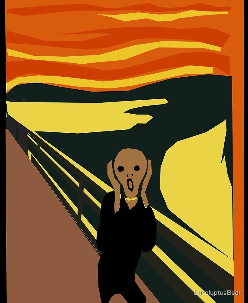 The Screaming Man by EucalyptusBear