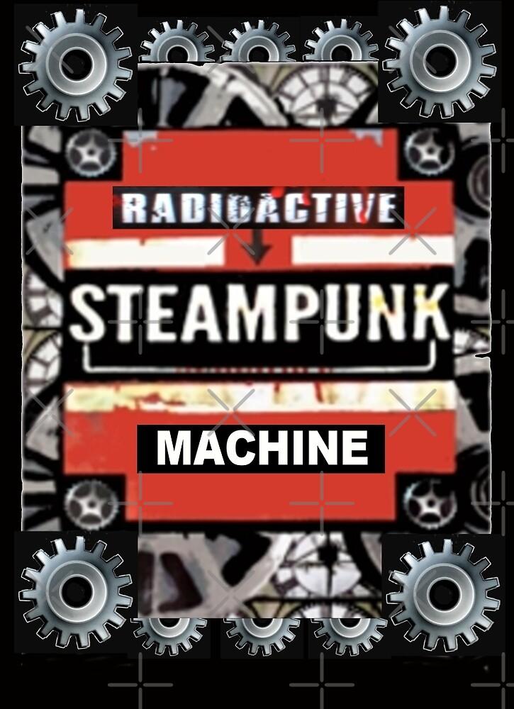Radioactive Steampunk Machine by Artisimo