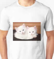 Sibling Cats Unisex T-Shirt