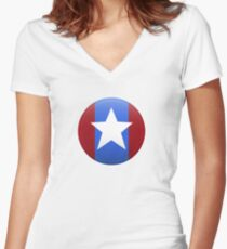 Paragon Star shirt Women's Fitted V-Neck T-Shirt
